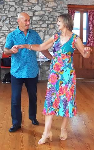 learn to dance the samba at the gemini dance studios, lanner, cornwall