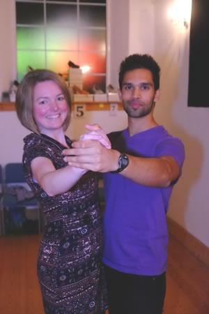 learn to dance ballroom tango at the gemini dance studios, lanner, cornwall