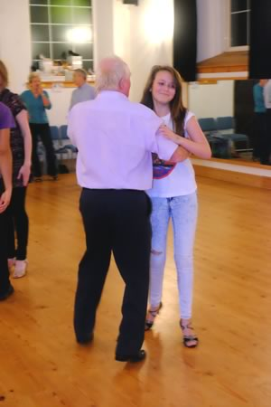 learn to dance the quickstep at the gemini dance studios, lanner, cornwall