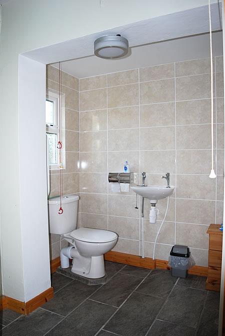venue hire at gemini dance studios lanner cornwall - disabled toilet