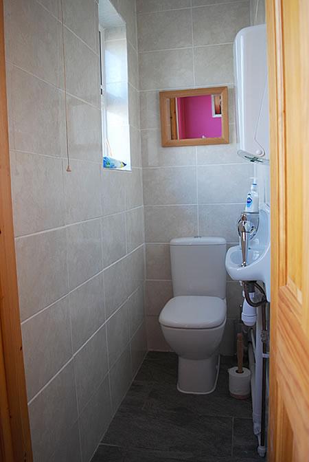 venue hire at gemini dance studios lanner cornwall - toilet